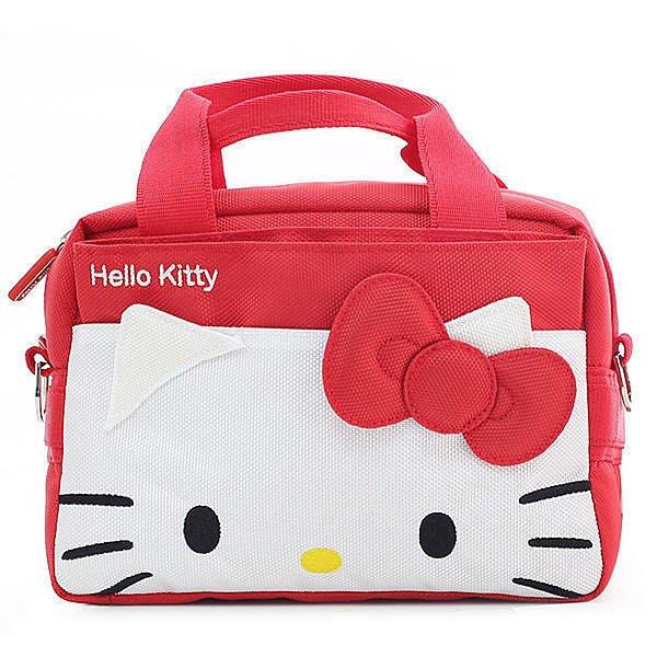 @3C 柑仔店@ 現貨 吉尼佛 JENOVA Hello Kitty 321 凱蒂貓 相機包 1機2鏡小 單眼 附防雨罩