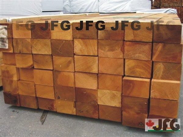 "JFG 木材批發 *【WRC美西側柏角材】4x6"" 95x140mm  木屋 涼亭 露台 裝潢 木材加工 木工DIY 拼板"