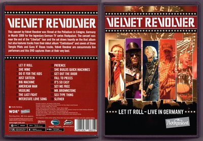 音樂居士#絲絨左輪 Velvet Revolver Let It Roll Live In Germany () DVD
