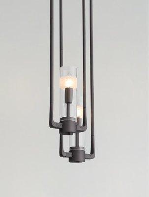 A+LIGHT[AplusLight]北歐風|玻璃燭光吊燈(B)|α