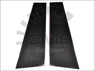 《OME - 傲美國際》BMW 寶馬 99-06 E46 兩門 325 328 330CI M3 正碳纖維 貼式B柱 飾條