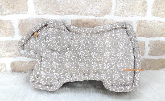 點點蘑菇屋 義大利設計師品牌Rosso Regale森林童話小狗造型抱枕 靠枕 靠墊 床頭靠背 禮物 現貨