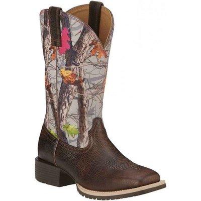 【幫你買】女靴 Ariat Ladies Hybrid Rancher Wicker Brown/Camo Boot 10016314