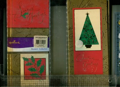 Christmas card 30組(3*10附信封) Pacific Greetings Hong Kong 早期出版