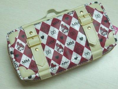 *凱西小舖*日本進口三麗歐正版MELODY美樂蒂手提箱造型收納/筆袋/化妝包