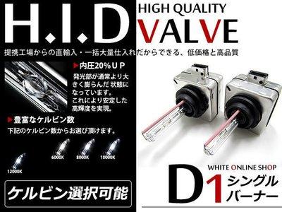 ◇光速LED精品◇ D1S燈管 燈泡 6000K  HID燈管