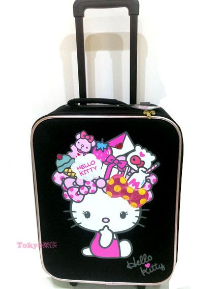 東京家族 Hello kitty 正品 正版 日本登機箱 行李箱 旅行箱 現貨