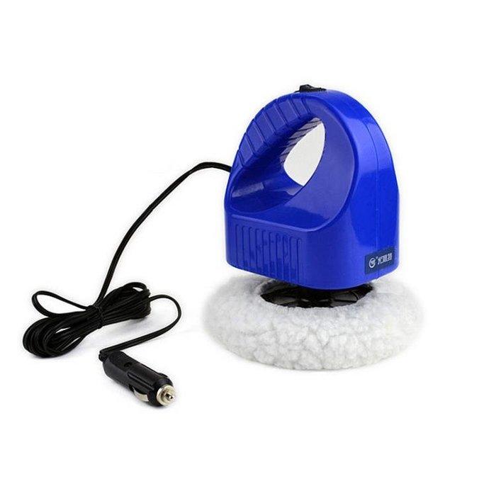 汽車美容拋光機12v車載拋光打蠟機充電式車用打蠟洗車工具CY