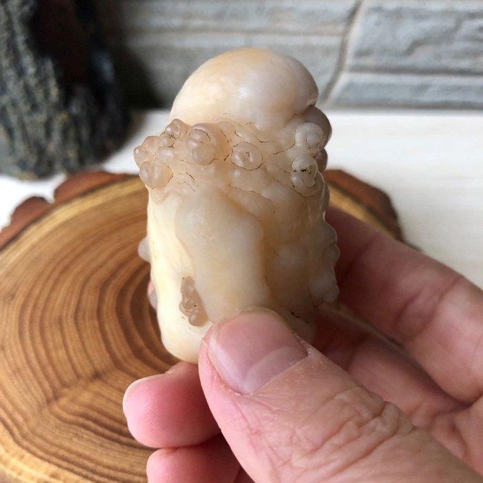 [馬克與安]埃及戈壁瑪瑙原石❤️此件促銷含運❤️⭐️尺寸:長5.2*寬3.5cm⭐️重量:84g