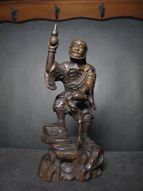 老黃楊木雕  ◎ 李鐵柺【清代老件】