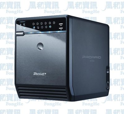 PRORAID HFR2-SU3S2 四層式 USB3.0+eSATA 3.5吋磁碟陣列硬碟外接盒【風和資訊】