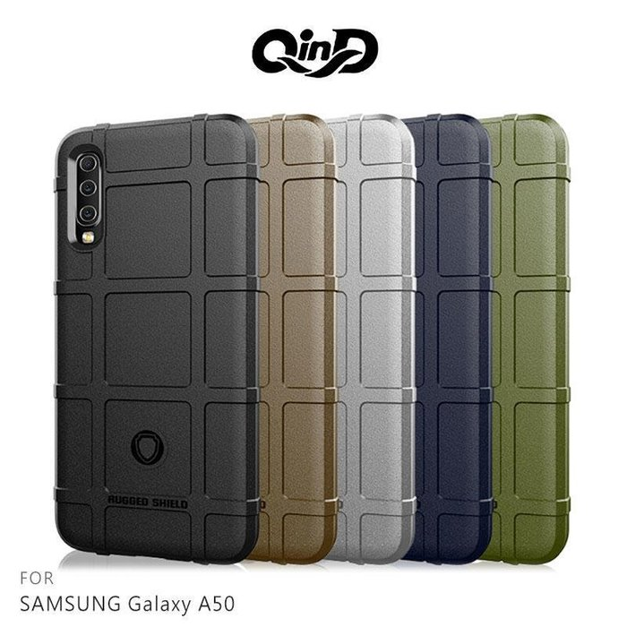 *phone寶*QinD SAMSUNG A50 /A70 戰術護盾保護套 背蓋 TPU套 手機殼 鏡頭保護