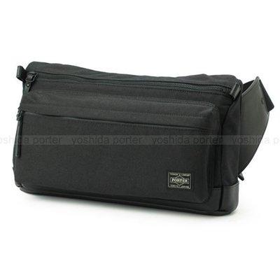 『小胖吉田包』黑色預購 日本 日標 吉田 PORTER ROOT 腰包 ◎234-02702◎免運費!