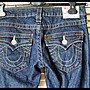 【TRUE RELIGION 】美國購回超美超正點立體刷色翹臀新款女粗線直筒窄管牛仔褲JOEY 26