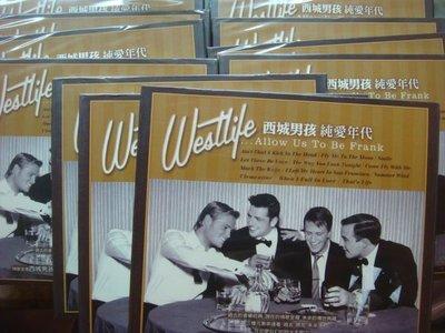 (全新未拆封)Westlife 西城男孩-Allow Us To Be Frank 純愛年代 CD(原價429元)特價