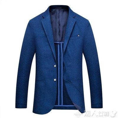 西裝外套秋冬新品男士西裝商務休閒西服外套經典純色男裝單西