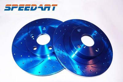 【SPEED ART】煞車碟盤 FORD 09-11 FIESTA 原廠規格 前畫線碟盤