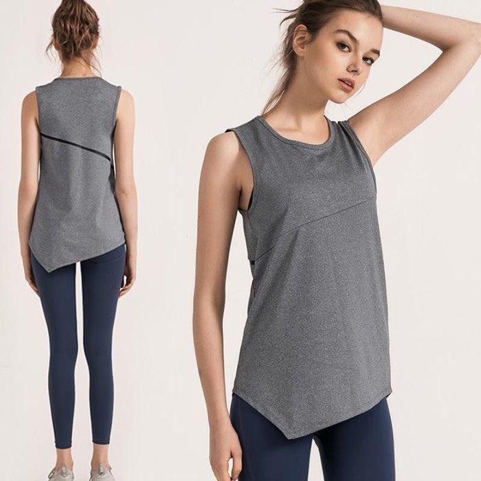 [索恩肯]2010 運動衣 索恩肯t恤寬松顯瘦ins罩衫健身女瑜伽上衣速干跑步外穿運動背心421