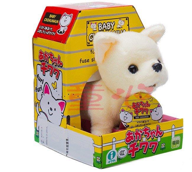 日本IWAYA 甜甜屋-電動吉娃娃犬~可愛電子小寵物狗~特價~~◎童心玩具1館◎