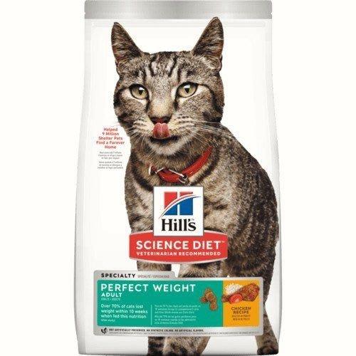 希爾思 希爾斯 Hills 完美體重 雞肉配方 成貓 貓用 15磅 生命照護 貓用乾糧 [2970] 信用卡專區
