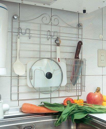 ☆成志金屬廠 ☆  S1J-1C不銹鋼壁網收納組合, 不銹鋼網片可適用園藝或店面展示