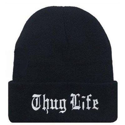 【PD帽饰】▧Married to the Mob THUG LIFE BEANIE 針織帽毛線帽bboy彈力帽
