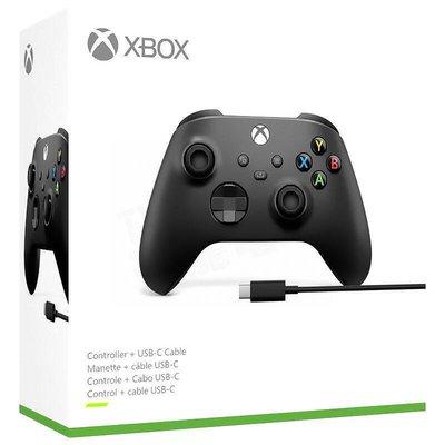 XBOX SERIES S / X  原廠 無線 控制器 手把 把手 藍芽 附USB線 磨砂黑色 全新品【台中大眾電玩】