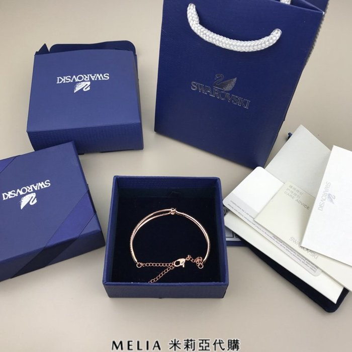 Melia 米莉亞代購 Swarovski 施華洛世奇 2018ss 專櫃正品出清特價 手鍊 手環 lifelong