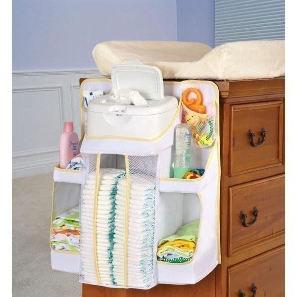 ☆促銷~美國Dex Baby Nursery Organizer尿布收納袋 尿布置物袋(兩色可選)本島免運