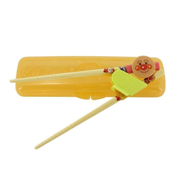 【東京速購】日本 ANPANMAN 麵包超人 兒童學習筷 三階段學習筷 附盒組 (S/M) 右手專用