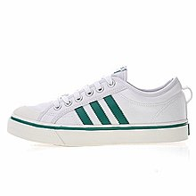 D-BOX  Adidas Nizza Lo 米白深綠 板鞋 滑板鞋休閒 運動 CQ2327