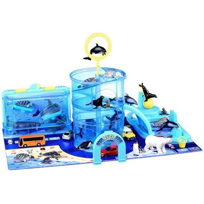 【阿LIN】80362A 可愛動物海洋公園 TAKARA TOMY AN80362 TOMICA多美動物園