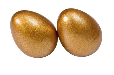 【晴晴百寶盒】台灣製造 沙鈴 雞蛋型 金色沙鈴 音樂 沙鈴 樂器 益智遊戲 高品質 送禮禮物禮品 創意兒童早教 W118