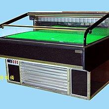 鑫忠廚房設備-餐養設備:開放櫃OD系列-四尺臥式冷藏生鮮開放展示櫃-賣場有水槽-快速爐-工作臺-烤箱-西餐爐