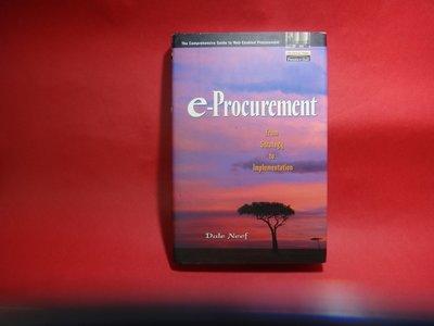 【愛悅二手書坊 08-54】e - Procurement