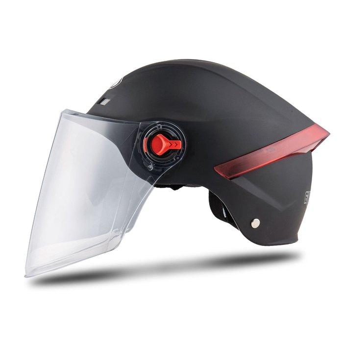 機車頭盔 新款頭盔 電動車頭盔  摩托車頭盔 安全防曬防護帽男女通用頭盔