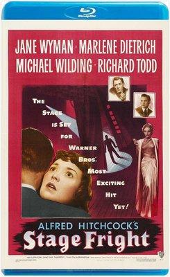 【藍光電影】欲海驚魂  STAGE FRIGHT (1950) 懸念大師希區柯克經典作品
