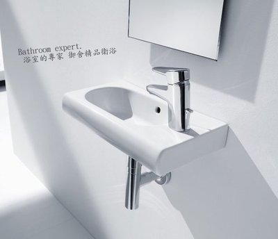 浴室的專家 *御舍精品衛浴 Roca N-MERIDIAN 紐瑞 系列 掛牆式臉盆45公分【西班牙】A327248
