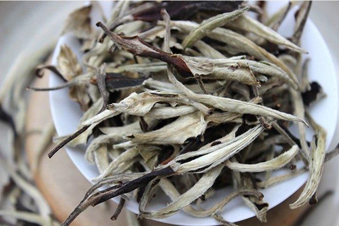 月光白 白茶  [明海園] 2017 景邁 300年古樹 特級 月光白 50克 散茶