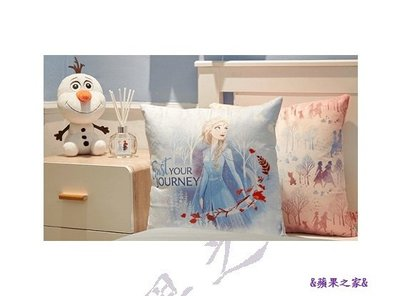 &蘋果之家&現貨-7-11 FROZENII - 居家篇 - 方型抱枕
