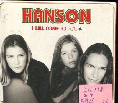 *真音樂* HANSON / I WILL COME TO YOU 二手 K28328 (內殼壞)