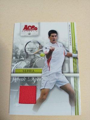 Novak Djokovic 2007 ACE RC Jersey 新人球衣卡