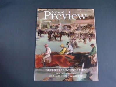 【懶得出門二手書】《Sotheby's藝術拍賣雜誌2004/5月號》PROPERTY OF THE (21Z31)