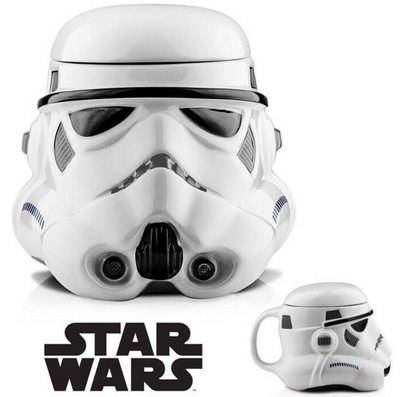 【丹】TB_Star Wars Storm Trooper Mug 星際大戰 複製人 造型 馬克杯