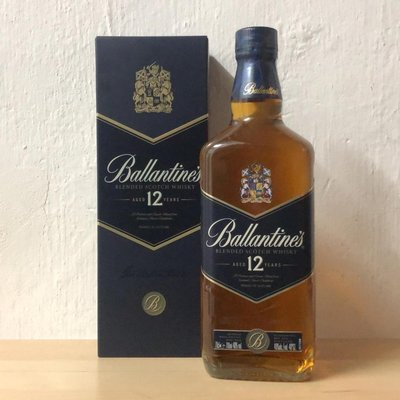 Ballantine's 12 Years Old Blended Whisky 百齡壇12年威士忌(香港行貨)