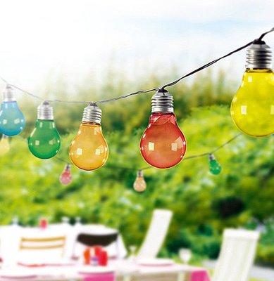 【艷陽庄】出清特賣LED聖誕燈彩虹串燈串燈LED燈燈具裝飾燈泡燈泡造景燈