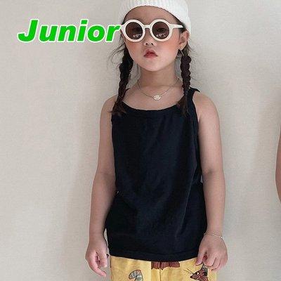 JS~JL ♥上衣(BLACK) NICE TO MEET YOU-2 21夏季 NIM210412-033『韓爸有衣韓國童裝』~預購