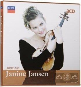 吉妮楊森的小提琴作品集 Janine Jansen - Portret Van / 吉妮楊森---4804231