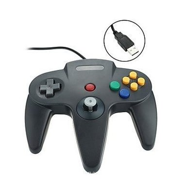 N64 遊戲手柄 N64 PC手柄 USB手柄 for PC 電腦 for N64