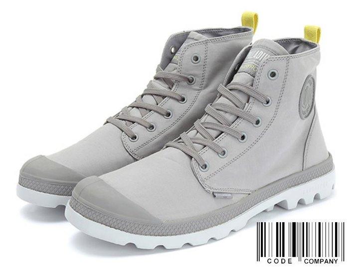 =CodE= PALLADIUM PAMPA PUDDLE LT WP WB 防水輕量軍靴(淺灰)75970-243 女